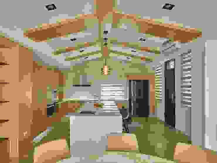 Cocinas de estilo minimalista de 澤序空間設計有限公司 Minimalista