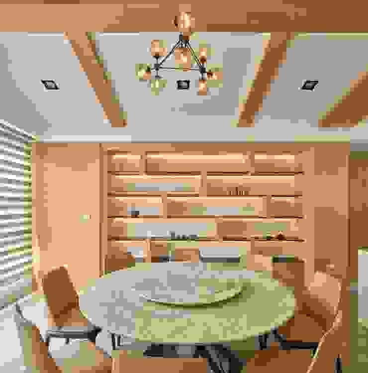 餐廳 Minimalist dining room by 澤序空間設計有限公司 Minimalist