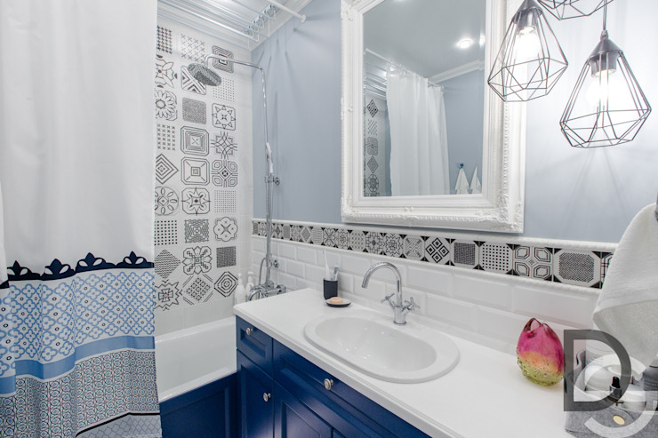 Ванная комната Ванная комната в скандинавском стиле от Design Service Скандинавский