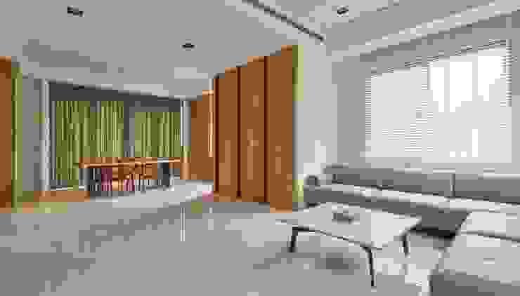客廳 Minimalist living room by 澤序空間設計有限公司 Minimalist