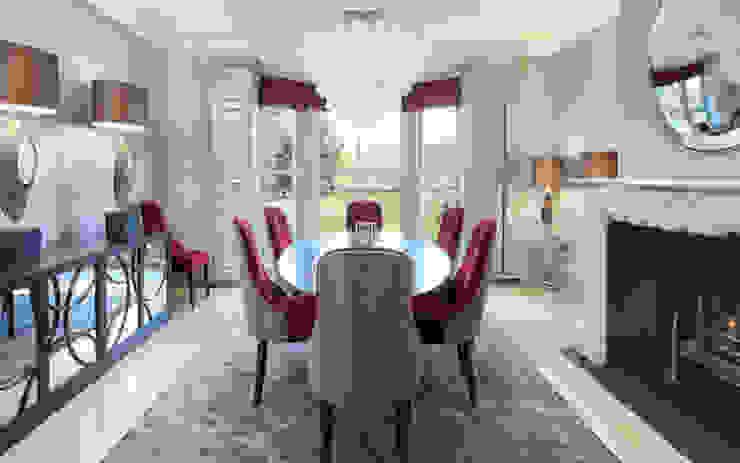 SHROPSHIRE Suzanne Tucker Interiors Dining roomAccessories & decoration Metallic/Silver