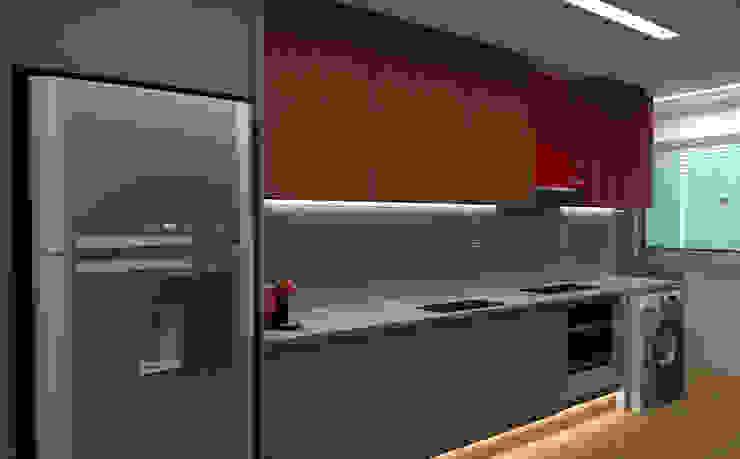 Cozinha - Mitre Vila Matilde por Thiago Lima Arquiteto Moderno MDF
