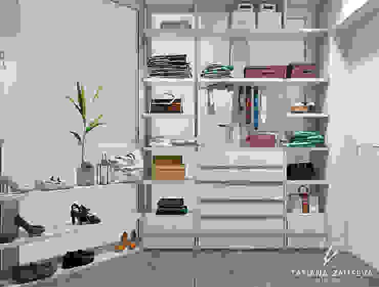 Ruang Ganti oleh Design studio TZinterior group, Modern Kayu Wood effect