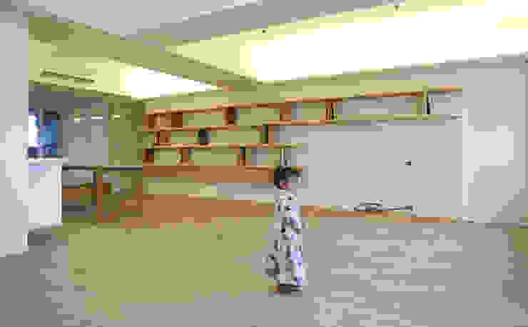 書牆 根據 王采元工作室 現代風