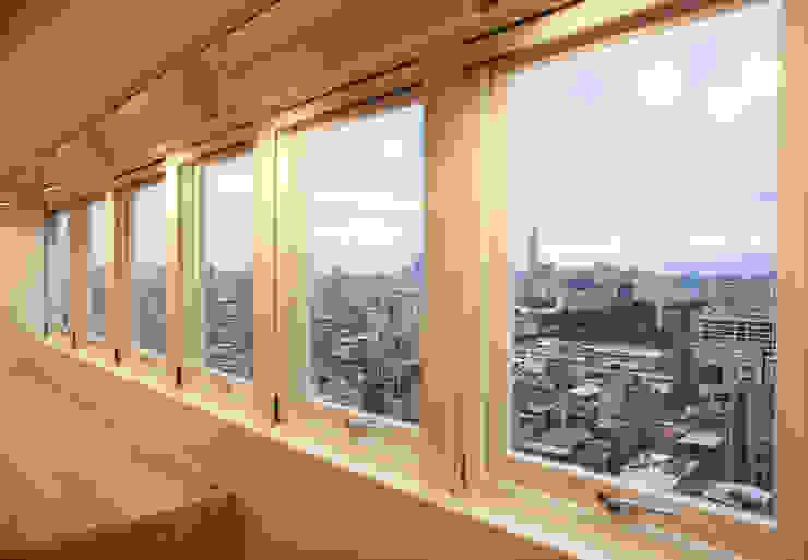 窗景。框景。 根據 王采元工作室 現代風