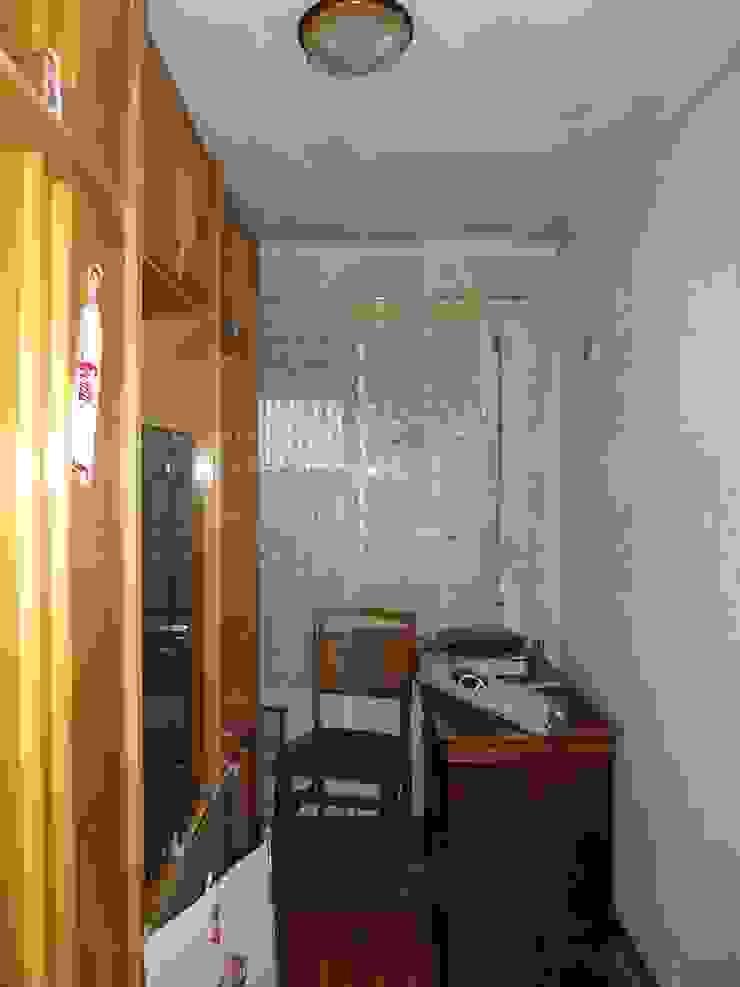 Dormitorio individual antes Dormitorios de estilo escandinavo de Almudena Madrid Interiorismo, diseño y decoración de interiores Escandinavo