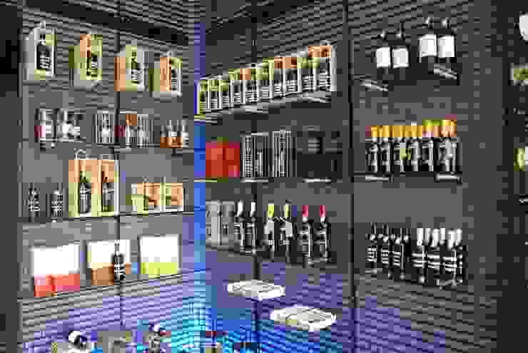Wine Racks Project by Cobermaster Concept Modern Home Wine Cellar by Cobermaster Concept Modern Iron/Steel