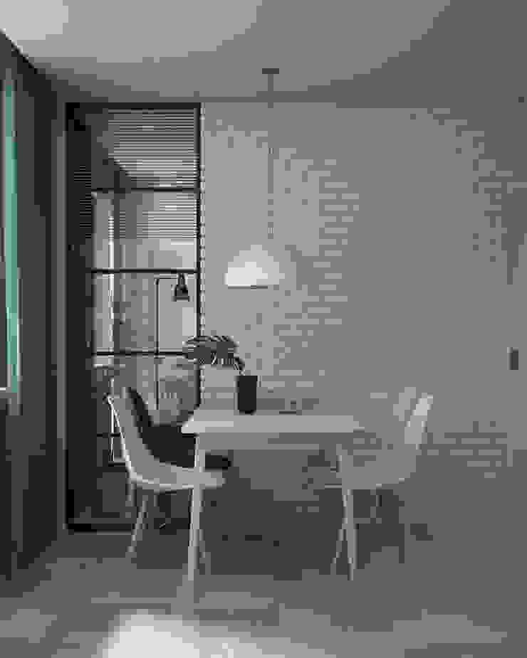 Appartement/Saint-Pétersbourg, Russie, 2018 Salle à manger moderne par Tatiana Sukhova Moderne