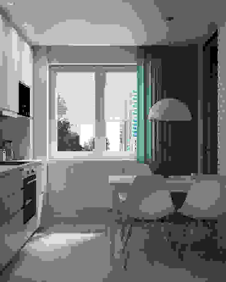 Appartement/Saint-Pétersbourg, Russie, 2018 Cuisine moderne par Tatiana Sukhova Moderne