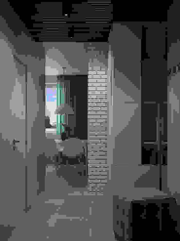 Appartement/Saint-Pétersbourg, Russie, 2018 Couloir, entrée, escaliers modernes par Tatiana Sukhova Moderne