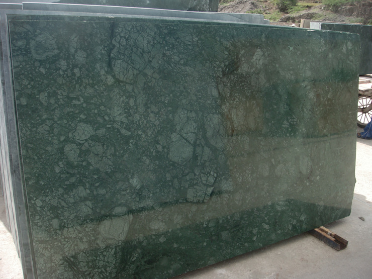 Green Marble and Verde Guatemala from India: modern  by Flodeal Inc.,Modern Marble