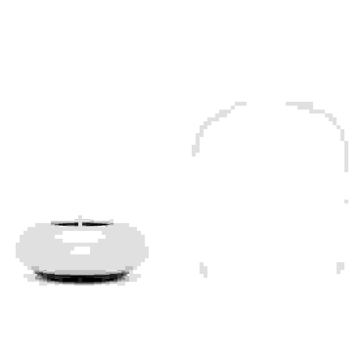 靜_防風燭台 Lantern Tea Light Holder: 極簡主義  by no.30, 簡約風 鋁箔/鋅