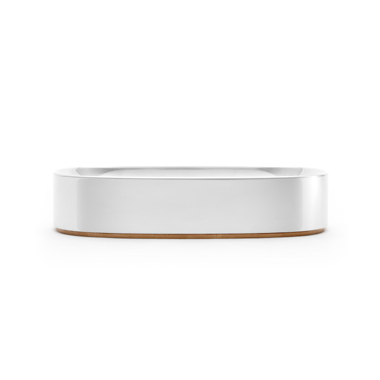 取捨_玄關盤 Superbowl Bowl: 極簡主義  by no.30, 簡約風 鋁箔/鋅