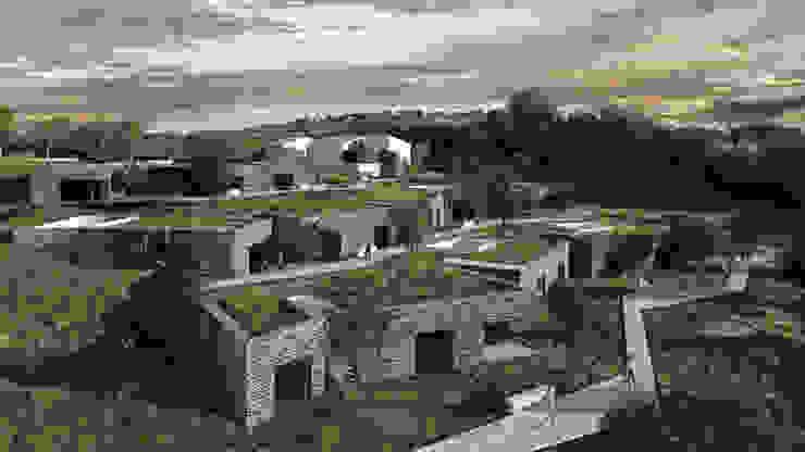 TURISMO RURAL . MONTE DA PECHINCHA . ESTREMOZ T O H A ARQUITETOS Casas modernas