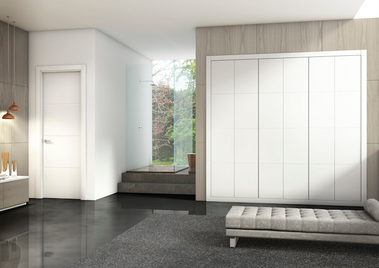 Oleh Puertas Castalla Minimalis Kayu Wood effect