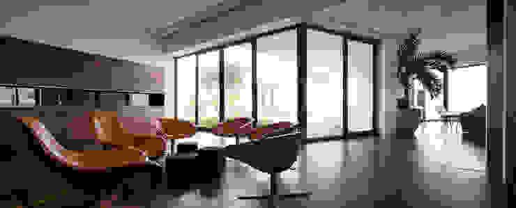 Salon moderne par AGi architects arquitectos y diseñadores en Madrid Moderne