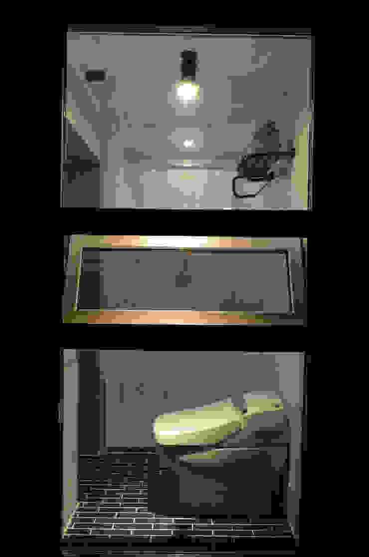 마룸 6평 (micro compact house) 모던스타일 욕실 by 마룸 모던