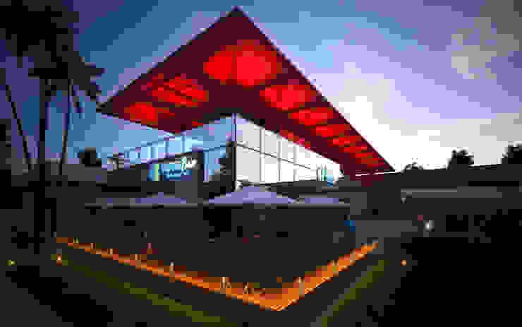 ARQUITETÔNICO - CENTRO COMERCIAL EM MANAUS Espaços comerciais modernos por Sotto Mayor Arquitetura e Urbanismo Moderno