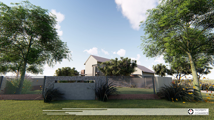House Booysen Modern houses by Property Commerce Architects Modern