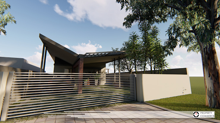 House Botes:  Houses by Property Commerce Architects,