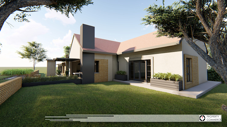 House Du Plessis:  Houses by Property Commerce Architects,