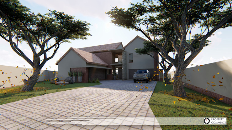 House Ramokoena:  Houses by Property Commerce Architects,
