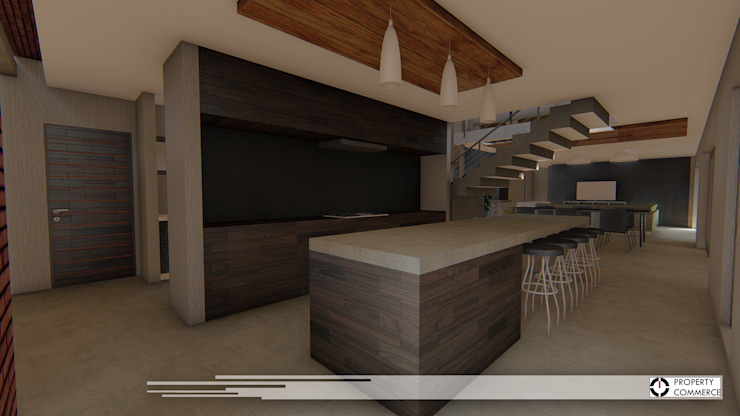 Cozinhas modernas por Property Commerce Architects Moderno