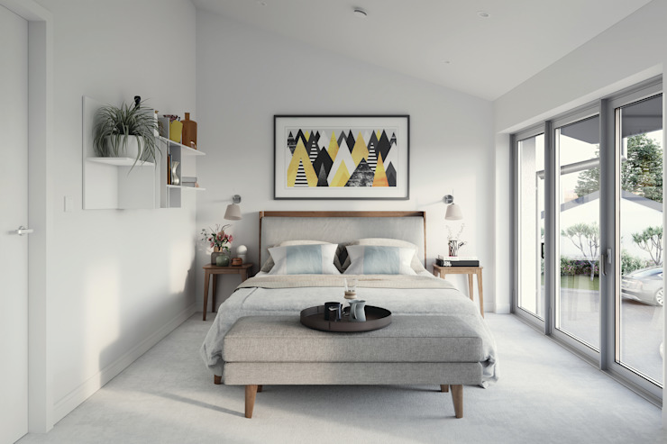 Hilgrove Mews Modern style bedroom by Ruin Studio Modern