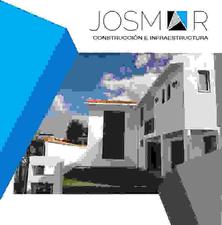JOSMAR CONSTRUCCIÓN E INFRAESTRUCTURA 現代房屋設計點子、靈感 & 圖片 水泥 White