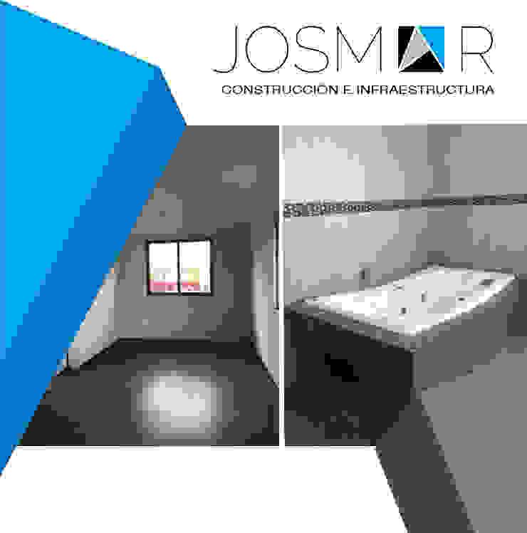 JOSMAR CONSTRUCCIÓN E INFRAESTRUCTURA 臥室 White