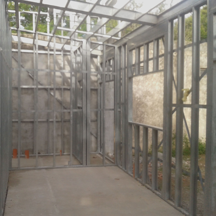 Obra DP de do Arquitectura (Construcción en Steel Framing y SIPANEL) Minimalista