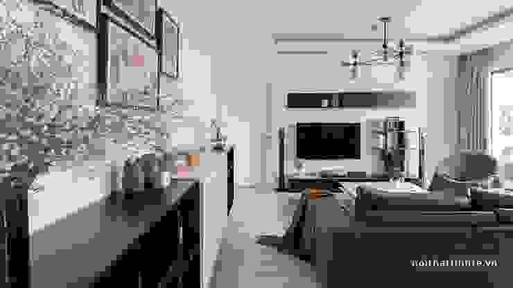 Scandinavian style living room by Công ty cổ phần NỘI THẤT AVALO Scandinavian