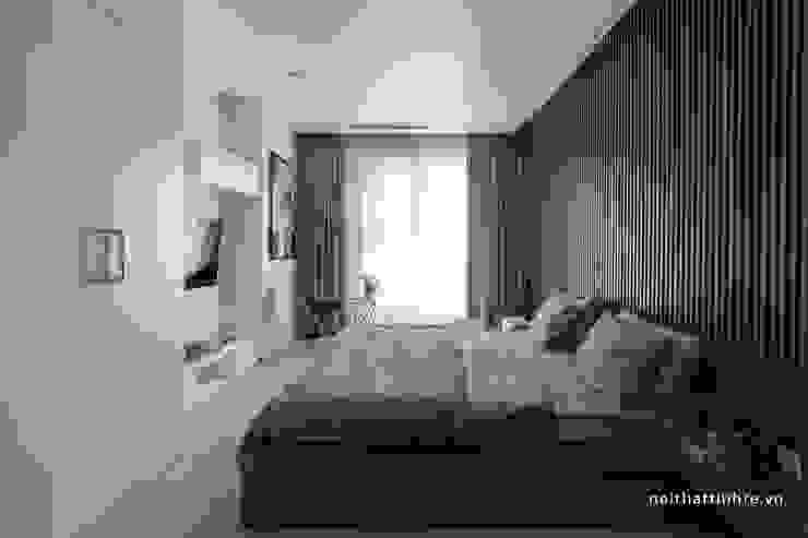 Căn hộ phong cách Avalo Đương Đại Phòng ngủ phong cách Bắc Âu bởi Công ty cổ phần NỘI THẤT AVALO Bắc Âu