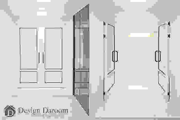 광장동 현대홈타운 53평형 현관 모던스타일 복도, 현관 & 계단 by Design Daroom 디자인다룸 모던