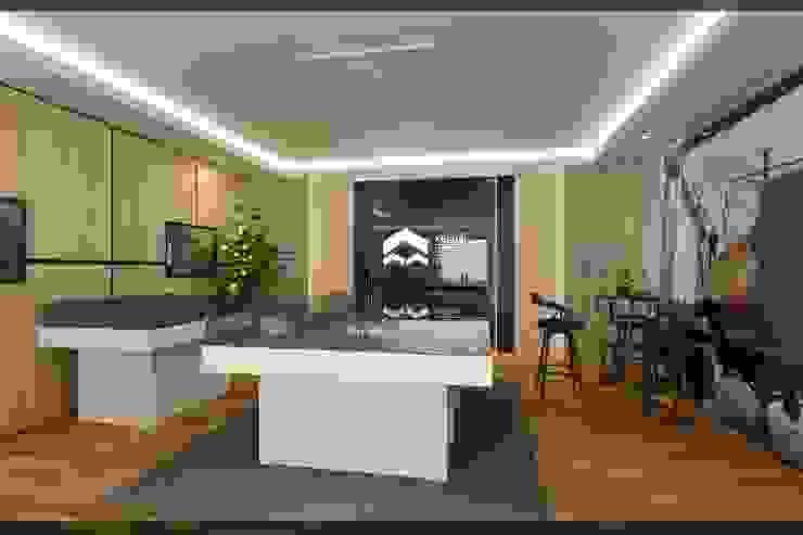 Kantor Marketing Galery Kawasan Industri Kendal Oleh Q Interior & Arch Minimalis
