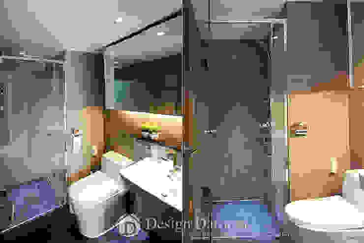 광장동 현대홈타운 53평형 거실욕실 모던스타일 욕실 by Design Daroom 디자인다룸 모던