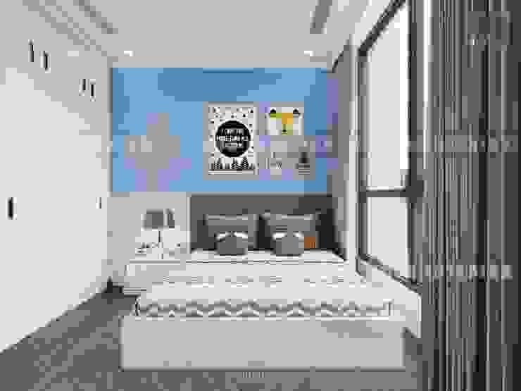 Thiết kế nội thất cao cấp dành cho căn hộ Vinhomes Central Park Phòng trẻ em phong cách hiện đại bởi ICON INTERIOR Hiện đại