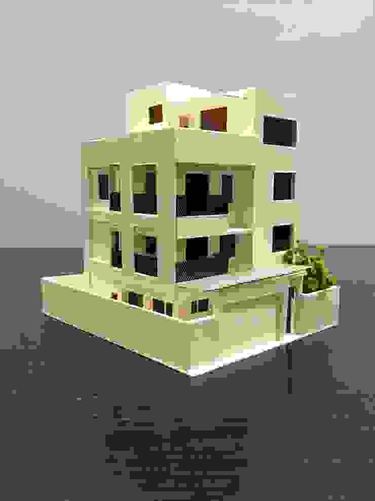 模型 根據 劉勇信建築師事務所 現代風