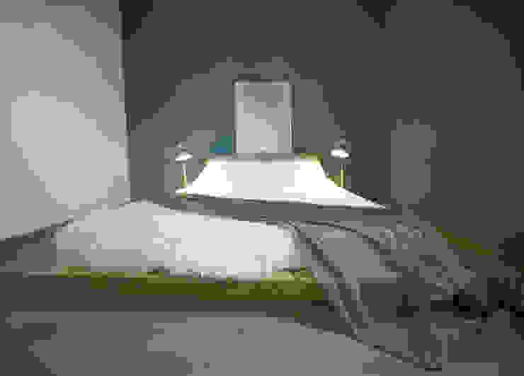 Camera con futon.: Camera da letto in stile  di Rifò