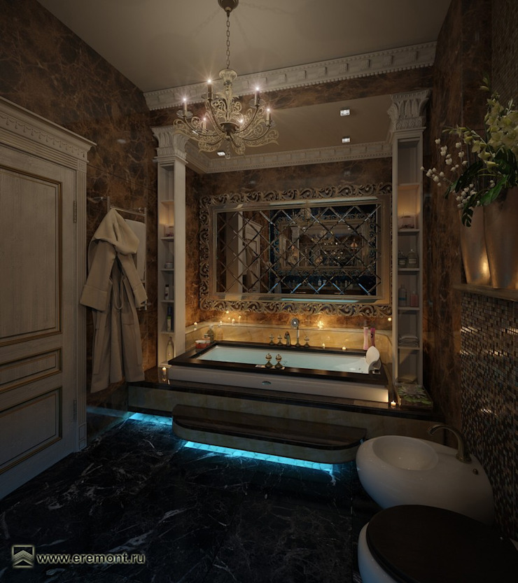 Вира-АртСтрой Modern bathroom