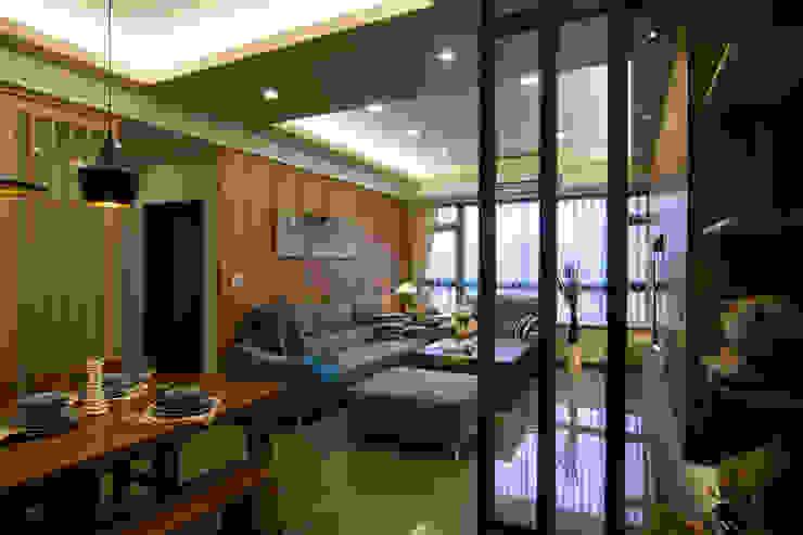 日式休閒的退休宅居 根據 青築制作 古典風
