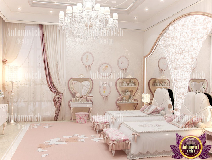 ​The attractive power of beautiful interiors from Katrina Antonovich Eclectic style bedroom by Luxury Antonovich Design Eclectic