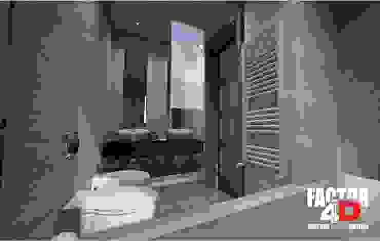 Virtual3D#011 Casas de banho modernas por Factor4D - Arquitetura, Engenharia & Construção Moderno