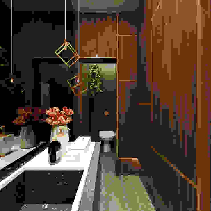 Quadra 17 I Arquitetura e Interiores Modern bathroom