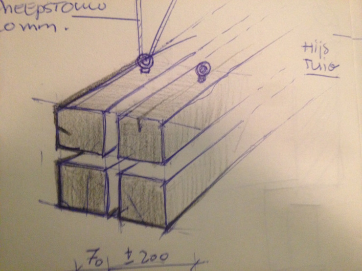 von WE-Maatdesign Rustikal Holz Holznachbildung