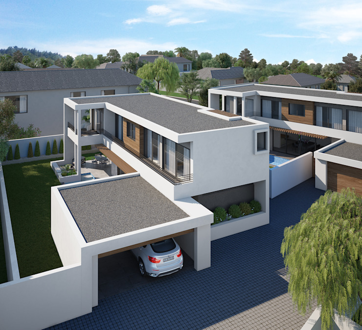 The Arin by Cleo Architecture Studio Modern Concrete