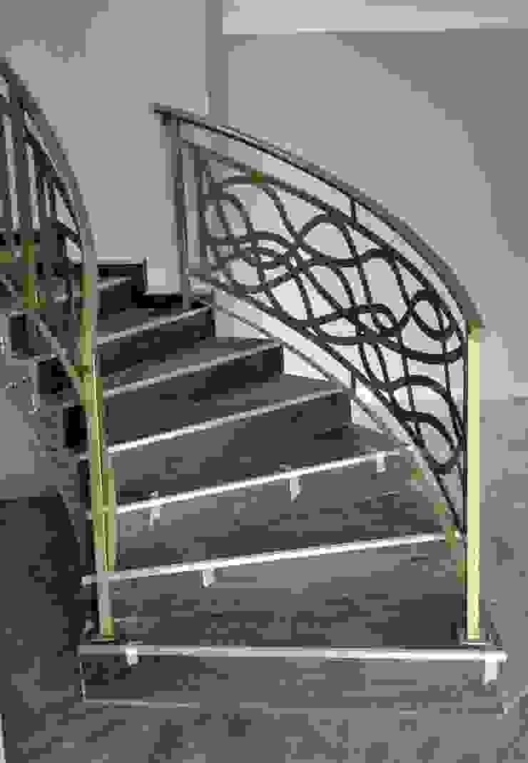 Stair case art by Metallica Steel Modern Metal