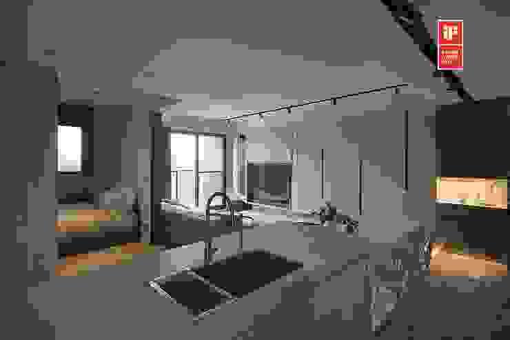 Modern kitchen by 禾光室內裝修設計 ─ Her Guang Design Modern