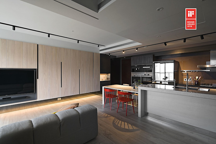 Modern living room by 禾光室內裝修設計 ─ Her Guang Design Modern