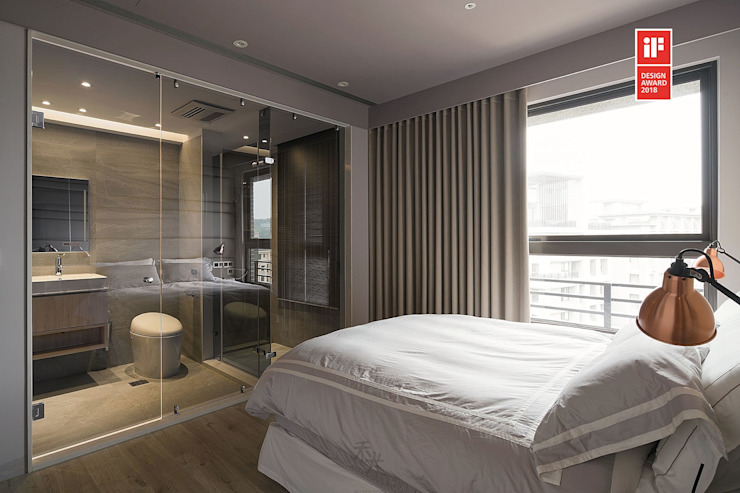 Bathroom by 禾光室內裝修設計 ─ Her Guang Design
